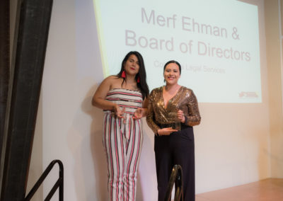 Visionaries of the Year - Brenda Rodriguez and Monserrat