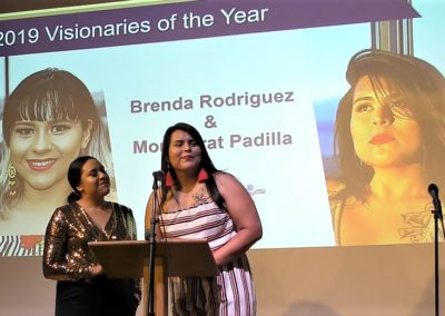 Visionaries of the Year - Brenda Rodriguez and Monserrat Padilla
