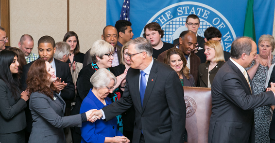 Governor Inslee Signs the YEAR Act