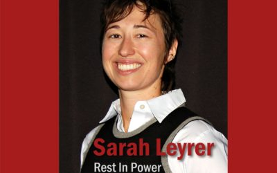 Remembering Sarah Leyrer