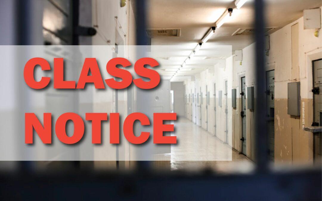 Jackson et al v. King County – Class Notice